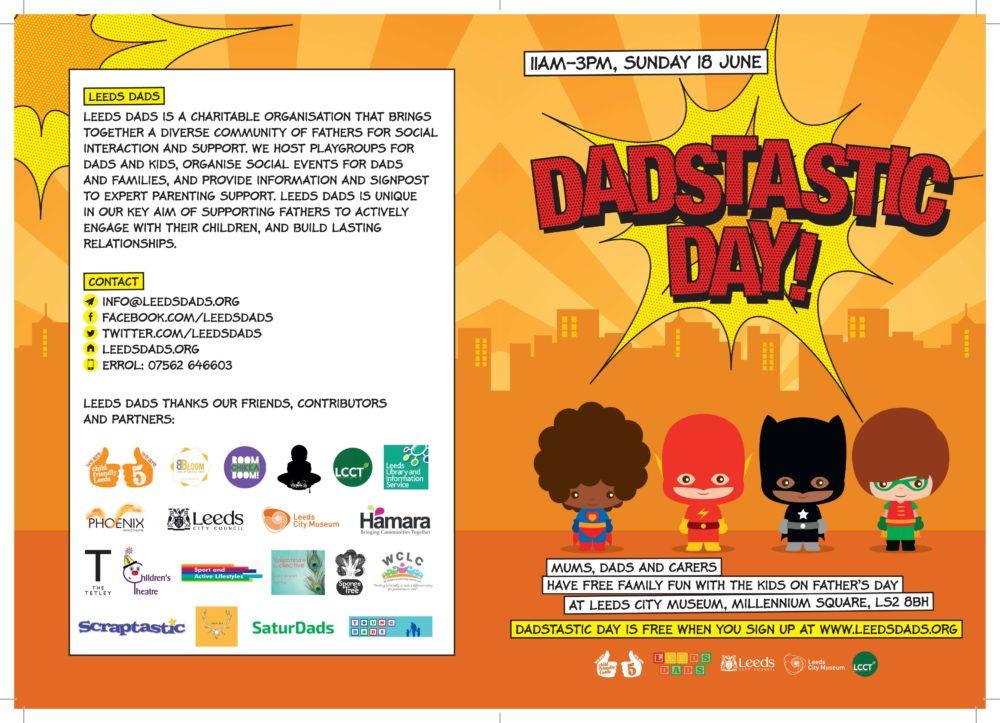 SC0685 Dadstastic Day Leaflet A5.indd